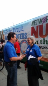 S. Simone Campbell and Nuns On The Bus